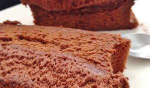 Le gâteau mousse au chocolat