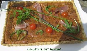 Croustille aux herbes
