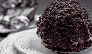 Boules choco ou boules meringues chocolat