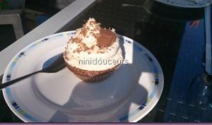 Cupcake chocolat crème caramel beurre salé