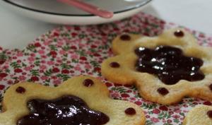 Fleur de biscuit à la cerise
