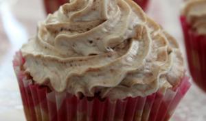Cupcake chocolat citron gingembre