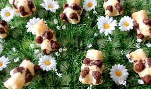 Oursons fourrés au Nutella