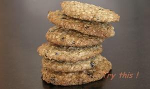 Cookies au Lait Ribot, à l'avoine et aux raisins secs