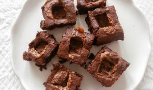 Brownies chocolat au lait et Mars