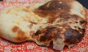 Cheese naans