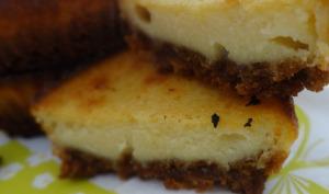 Bouchée cheesecake spéculos