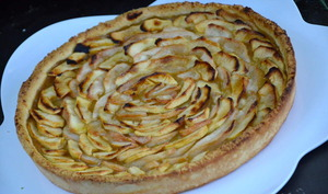 Tarte aux pommes et poires