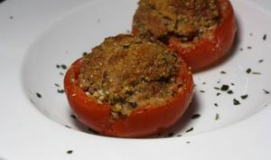 Tomates farcies au pesto des anges gratinés