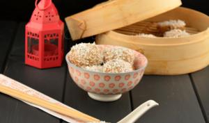 Les perles de coco à la pâte à tartiner