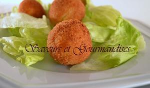 Croquettes Amandine au foie gras