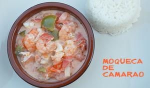 Moqueca de camarão
