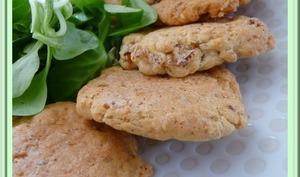 Cookies au Bacon Comté et Herbes de Provence