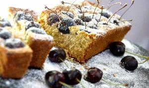 Gâteau aux cerises sans farine