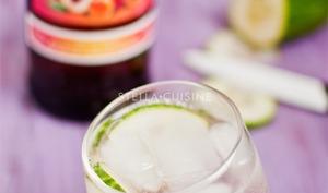 Cocktail Suze du Verger et accompagnements apéritifs
