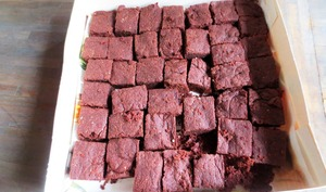 Brownies de Chocolat Vegan