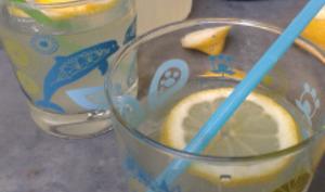 Limonade au gingembre