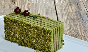 Cake pistache cerise