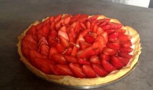 Tarte aux fraises et mascarpone façon Ladurée