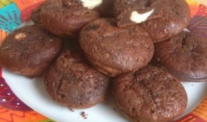 Petits fondants coeur chocolat blanc