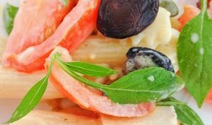 La salade de pâtes rapido presto au basilic