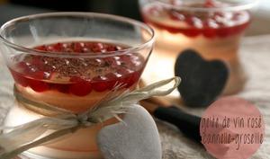 Gelée de Vin Rosé Cannelle-Groseille