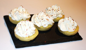 Mini Cupcakes apéritifs au Chèvre