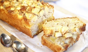 Cake aux pommes et à la cannelle