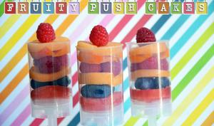 Push cakes fruités et vitaminés !