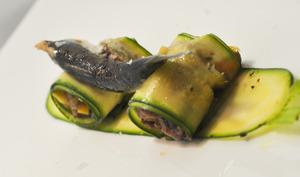 Sardine et boeuf, unis en tartare
