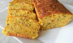 Cake carottes, courgettes et curcuma
