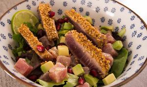 Salade de thon en 2 cuissons