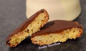 palet breton, chocolat et coeur caramel au beurre salé