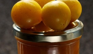 Confiture mirabelle, gingembre, cannelle