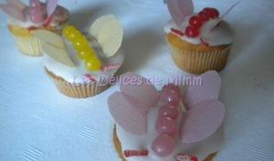 Cupcakes papillons pour Valina