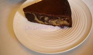 Gâteau marbré au lait concentré