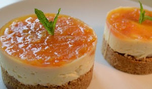 cheesecake clémentine corse