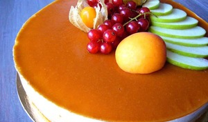Entremet abricot et nougat
