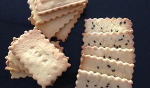 Biscuits secs au sésame