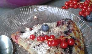 Pancake géant aux fruits d'été