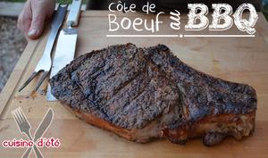 Côte de boeuf au BBQ