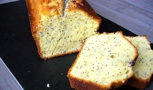 Cake citron et graines de pavot