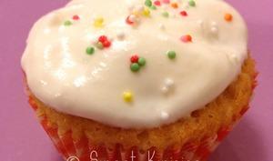 Les cupcakes à la Chantilly à la vanille