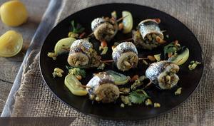 Sardines Farcies aux Olives et aux Pignons