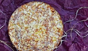 Gâteau moelleux nectarines / amandes