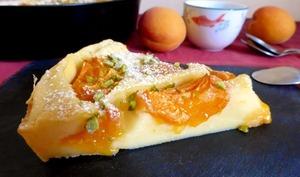 Clafoutis abricots coco