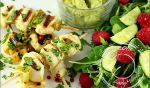 Brochettes de poulet Margarita