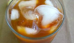 Caffè Leccese, glaçons et lait d'amandes