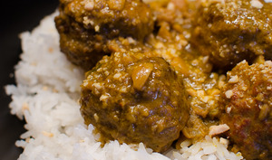 Boulettes au curry