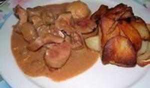 Rognons de veau au Madère